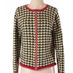 Christopher & Banks | heart cardigan